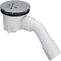 Сифон Viega Tempoplex 120х40/50 для душ. поддона, 45', хром.