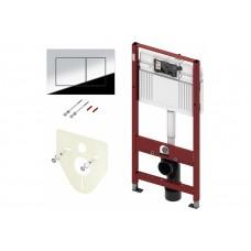 Комплект инсталляции TECEbase для уст-ки подвесного унитаза с панелью смыва ТЕСЕambia хром глянец