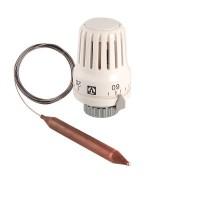 Термоголовка с погружным датчиком диап. Регул-ки 20-62С 2м.