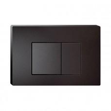 Клавиша смыва Iddis, универсальная, матовый черный, Unifix, 031
