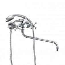 Смеситель для ванны с длинным изливом Milardo Duplex