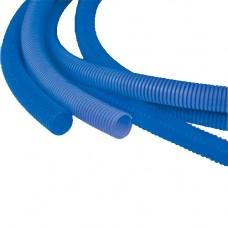 Кожух для трубы 16 (диаметр 25) синий