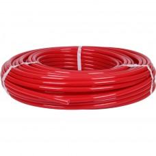 STOUT 20х2,0 (бухта 100 метров) PEX-a труба из сшитого полиэтилена с кислородным слоем, красная