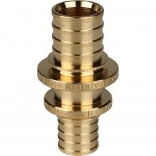 STOUT Муфта соединительнаяпереходная 20x16 для труб из сшитого полиэтилена аксиальная