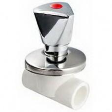 Вентиль PPR хромированный 20 мм