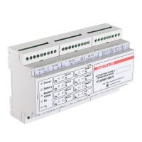 Концентратор общедомовой(GSM/GPRS, Ethernet, RS232, RS485 3шт, 2 импульсных входа, 2 аналоговых