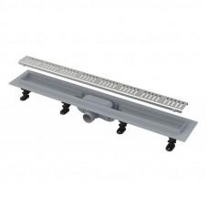 Канал дренажный ALCAPLAST 850*60 д.40мм APZ10-850 (решетка Simple Line в компл.)