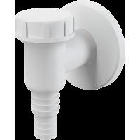 Сифон д/стиральной  машины наруж. /обратный клапан, белый/ APS2 ALCAPLAST