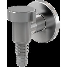 Сифон д/стиральной  машины наруж. /обратный клапан, хром/ APS1 ALCAPLAST