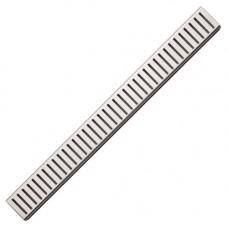 Решетка для водоотводящего желоба (Нержавеющая сталь матовая) ALСAPLAST PURE-850M