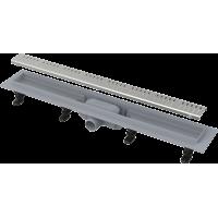 Канал дренажный ALCAPLAST 750*60 д.40мм APZ10-750 (решетка Simple Line в компл.)