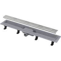 Канал дренажный ALCAPLAST 750*60 д.40мм APZ8-750 (решетка Simple Buble в компл.)
