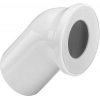 Отвод Viega 100х45', белый, уплотнение