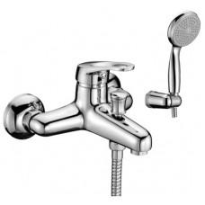 Смеситель для ванны Lemark Omega, с коротким изливом, картридж 35 мм