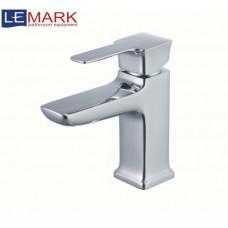 Смеситель для умывальника Lemark Basis, картридж 25 мм, монолитный