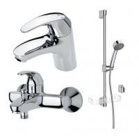 Набор смесителей для ванной комнаты (1411F+1440Y+520)