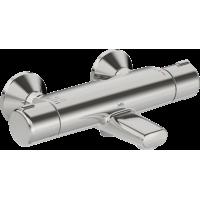 Смеситель термостатический Oras Nova для ванны, короткий излив