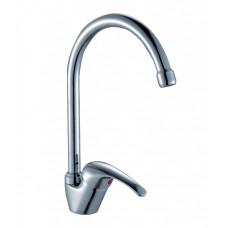 Смеситель однозахватный (35 мм) для кухни, с высоким поворотным изливом 180мм, A35-23*