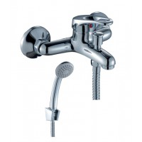 Смеситель однозахватный (35 мм) для ванны, с коротким изливом, B35-31*