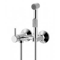 Смеситель однозахватный (25 мм) для биде,с гигиеническим душем X25-52 *