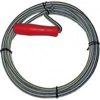 Трос сантехнический для чистки труб 10 м/ 9,0 мм