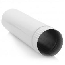 Труба вытяжная Нева, диам. 110 мм, L 0,2 м, эмалир.