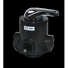 """Клапан ручной (осадочный фильтр), 3 цикла, 1"""", 4,5 м3/ч (ручка и щелевик в комплекте)"""