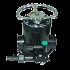 """Клапан ручной (фильтр умягчения и обезжелезивания), 5 циклов,1"""", 4,5 м3/ч (ручка и щелевик в компл.)"""