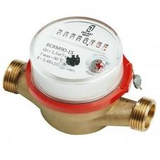 Счётчик воды универсальный Ду 20 мм (комп.штуц., имп. выход), Декаст ВСКМ-20 ДГ
