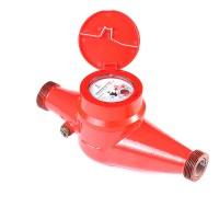 Счётчик воды универсальный Ду 25 мм (комп. штуц.,имп.вых), Декаст ВСКМ 90-25ДГ
