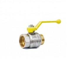 "Кран шаровой газовый 1 1/2"" в-н рычаг LD Pride GAS Ру25 Tmax=80"