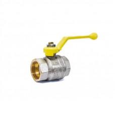 """Кран шаровой газовый 1 1/2"""" в-в рычаг LD Pride GAS Ру25 Tmax=80"""