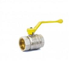 Кран шаровый в-в Ду 32 рычаг LD Pride GAS Ру25 Tmax=80