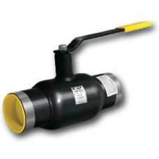 Кран шаровой стальной приварной d=100/80 Ру25 LD КШ.Ц.П L=300 мм