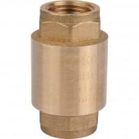 """STOUT 1"""" Клапан обратный пружинный муфтовый с металлическим седлом"""