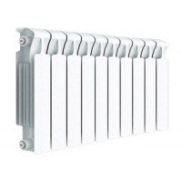 Радиатор биметаллический Rifar Monolit 500 х 100 10 секций, цвет белый